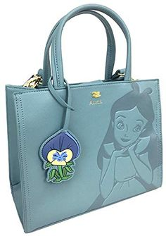 Loungefly x Disney Alice In Wonderland Debossed Crossbody Bag with Flower Charm -- To view further for this item, visit the image link. (This is an affiliate link) Disney Handbags, Disney Purse, Backpack Purse, Clutch Bag, Crossbody Bag, Cute Purses, Purses And Bags, Disney Themed Outfits, Cute Backpacks