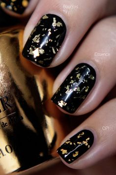 Look a like OPI The Man With The Golden Gun, Budget! | Essence & Bourjois, OPI dupes? ~ Beautyill | Beautyblog met nail art, nagellak, make-up reviews en meer!