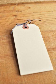 Gift Tags to print table nunbers