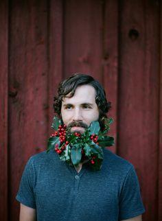Honey of a Thousand Flowers - Journal - Flower beard! with mistletoe!