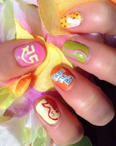 R5 Nails with a touch of Disney