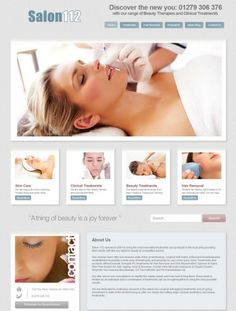 A Beauty Salons Beautiful Website