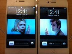 Doomsday scene recreated with iPhones.