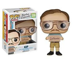 The Napoleon Dynamite Kip Pop! Vinyl Figure measures approximately 3 3/4-inches tall and comes packaged in a window display box. #funko #collectible #popvinyl #actionfigure #toy #NapoleonDynamite #KipPop