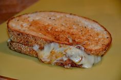 French Onion Sandwich with caramelized onions and Gruyère cheese by Necessary Indulgences.