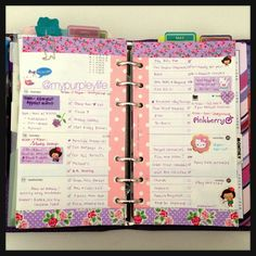 Systematically laid out tasks on a week decorated page. What more can a planner ask for?