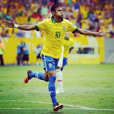 First Strike! Neymar scored a #golazo as #Brazil beat Japan 3-0 in the 2013 FIFA #ConfederationsCup opener!