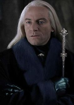Jason Isaacs as the wicked Lucius Malfoy