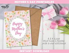 Mother's Day Bundle - Mother's Day Printable - Mother's Day Cards - Mom's Day - Happy Mother's Day - Gifts for Mom, Gifts for Mum Mothers Day Cards, Happy Mothers Day, Mother's Day Printables, Mother's Day Greeting Cards, Pastel Flowers, Mom Day, Gifts For Mum, Handmade Gifts, Floral