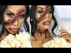 Dead Bride Easy FX Makeup | HALLOWEEN Tutorial - YouTube