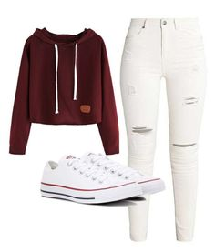 """Untitled #185"" by brodriguez8104 on Polyvore featuring Converse"