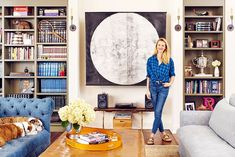 The Penny-Pincher's Guide to Decorating Like Brooklyn Decker via @MyDomaine