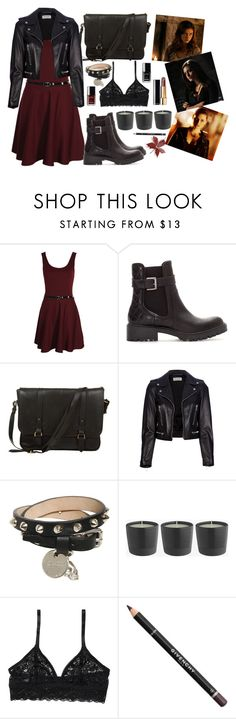 """""""Faye Chamberlain."""" by callmejay ❤ liked on Polyvore featuring Boohoo, Zara, Daines & Hathaway, Yves Saint Laurent, Alexander McQueen, Monki, Givenchy, Chanel, black and witch"""