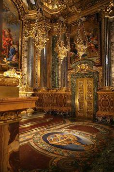 Chapel of Saint John the Baptist at Saint Roch Church. Lisbon