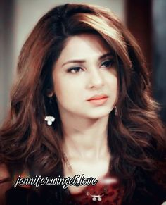 Indian Tv Actress, Indian Actresses, Jennifer Winget Beyhadh, Indian Celebrities, Artists For Kids, India Beauty, Stylish Girl, Bun Hairstyles, Star Fashion