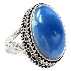 Owyhee-Opal-925-Sterling-Silver-Ring-Jewelry-s-7-SR181856