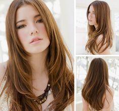 Natural long    #hairstyle #hair