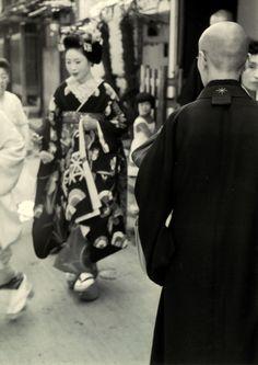 Kyoto, 1955 by Kansuke Yamamoto