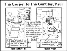 Lesson 10- The Gospel to the Gentiles/Paul