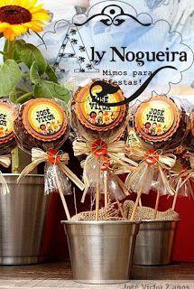 Encontrando Ideias: Festa do Cocoricó!!!