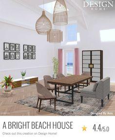 My Design, House Design, Beach House, Home, Beach Homes, Ad Home, Homes, Architecture Design, House Plans