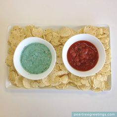 4th of July Food Ideas: Independence Day Chip Dip #4thofJuly #partyideas #peartreegreetings