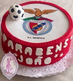 Benfica cake