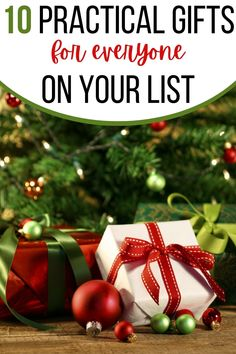 These practical gifts for men and women, kids and teens, college students and moms, are useful gifts your loved ones will actually use. So check out this list of practical and useful gifts people really want so you can give the best gift this year! Christmas Hacks, Christmas Crafts For Kids, Christmas Time, Christmas Wreaths, Christmas Bulbs, Christmas Decorations, Christmas Images, Christmas Christmas, Holiday Gifts