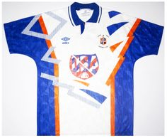 Luton Town home 91/92
