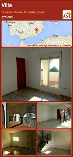 Villa in Huercal Overa, Almeria, Spain ►€73,000 #PropertyForSaleInSpain