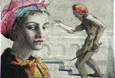 michael triegel paintings | Michael Triegel, Salome, New Leipzig School, Michael Art, Renaissance Art, Kitsch, New Art, Graphic Art, Contemporary Art, Paintings, Portrait