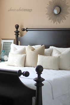 Shortcake & Orange: Master Bedroom