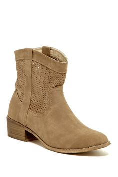 Bucco Kenelly Perforated Bootie
