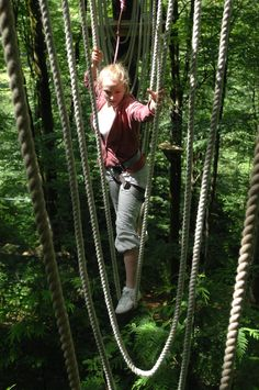 high ropes course - Google Search