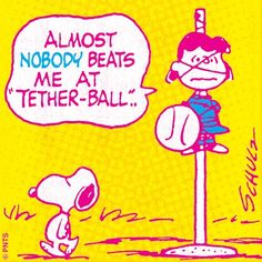 Summer fun with Lucy + Snoopy. #Peanuts
