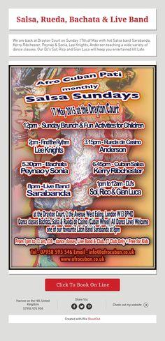 Salsa, Rueda, Bachata