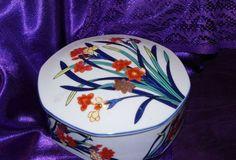Vintage Porcelain Boxes | Lovely Vintage Tiffany and Co Porcelain Trinket Box Large by 2BEB,