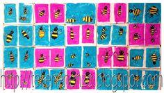 Tekenen en zo: Bij de bijtjes