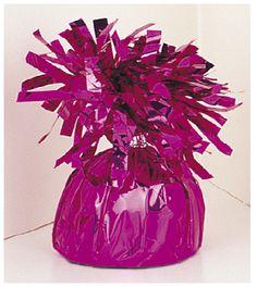 Decorative Metallic Pink Balloon Weight - Online Balloon Shopping in India