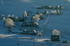 Zdiar - traditional Spis village in northern Slovakia.