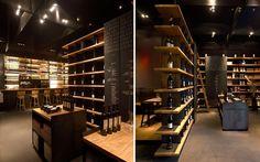 | Decoración y diseño de vinotecas