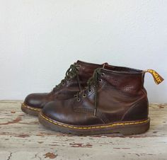 Vintage DOC MARTENS Boots / 1990s Boots / by BluegrassBooty, $54.00