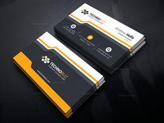 Stunning Classy Business Card Template 000742
