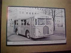 1938 Capital Transit Beaver Model 50 Bus (destination Congress Heights).
