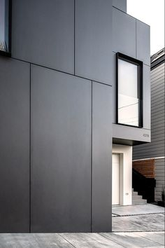 3-Story House by Edmonds + Lee Architects - Cube Residence- San Francisco, CA. EQUITONE facade materials. equitone.com