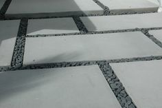simple pavers with stones