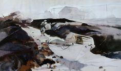 Andrew Wyeth Watercolor Paintings