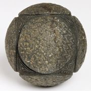 Carved stone ball, found at Alford, Aberdeenshire, Late Neolithic, around 3200–2500 BC