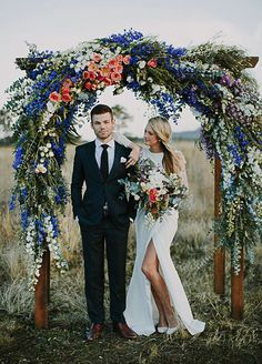 Your wedding arbor is the center of your ceremony- it's where you exchange vows, have your first kiss as husband and wife, and get some of the most memorable photos from your Big Day. Check out the 10 most beautiful wedding arbors.