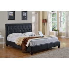 found it at wayfair upholstered platform bed - Wayfair Platform Bed
